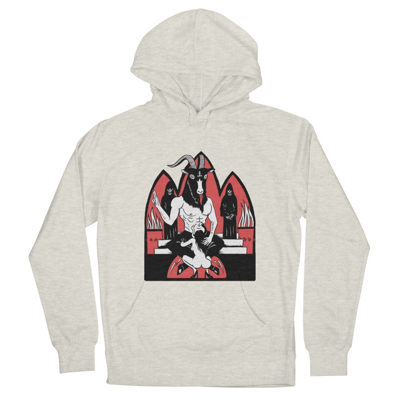 HAIL Men's French Terry Pullover Hoody by Hate Baby Artist Shop