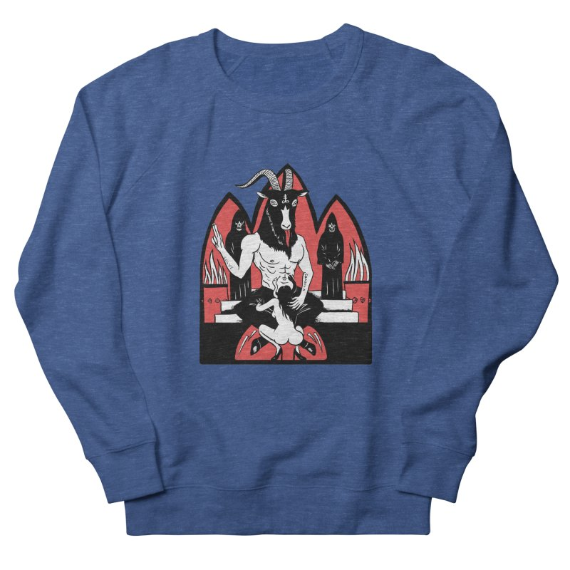 HAIL Men's French Terry Sweatshirt by Hate Baby Comix Artist Shop