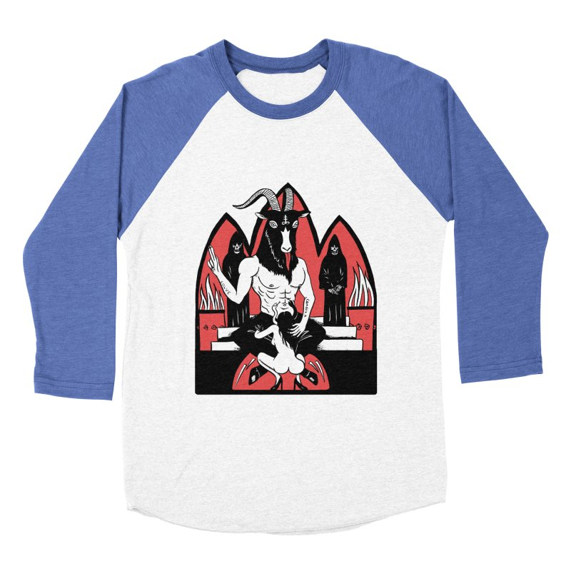 HAIL Women's Baseball Triblend Longsleeve T-Shirt by Hate Baby Comix Artist Shop