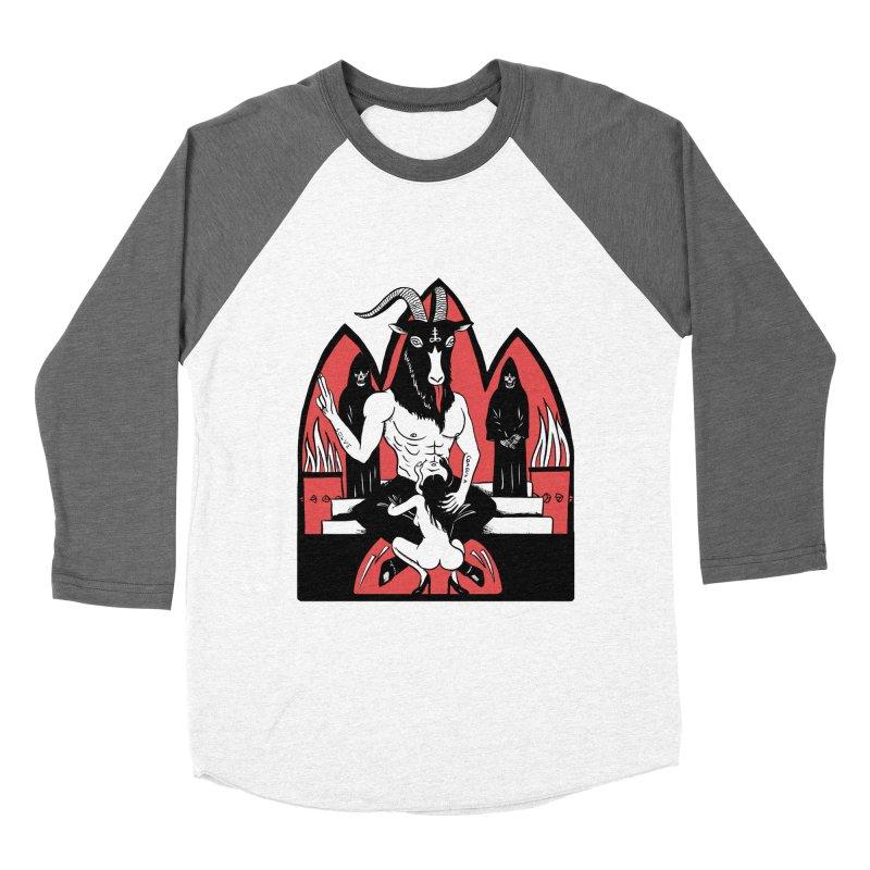 HAIL Men's Baseball Triblend Longsleeve T-Shirt by Hate Baby Artist Shop