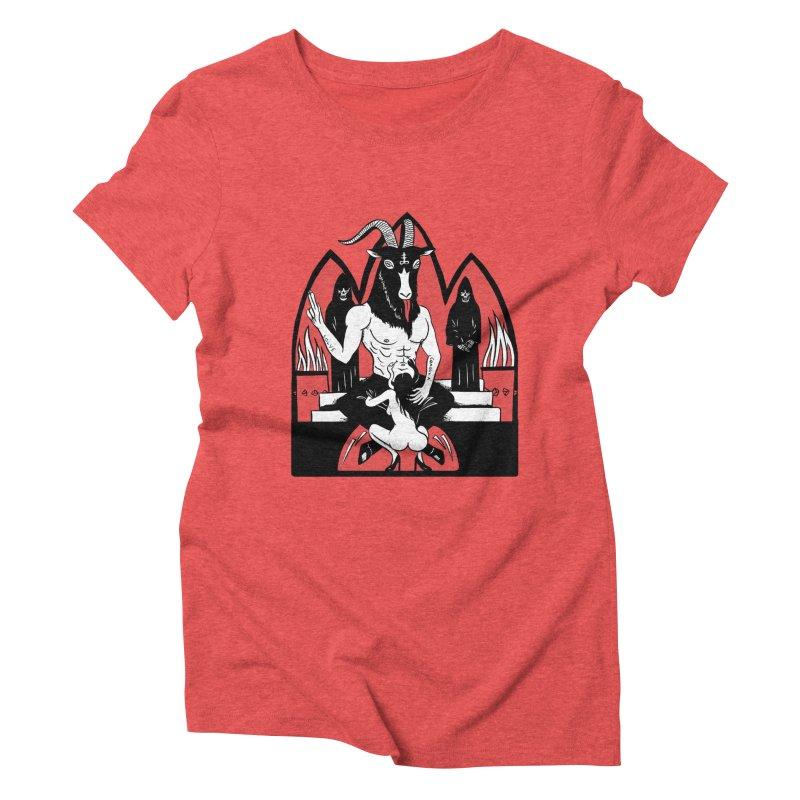 HAIL Women's Triblend T-Shirt by Hate Baby Comix Artist Shop