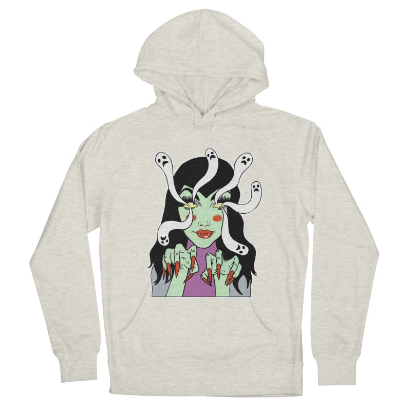 LAMIA Men's French Terry Pullover Hoody by Hate Baby Comix Artist Shop