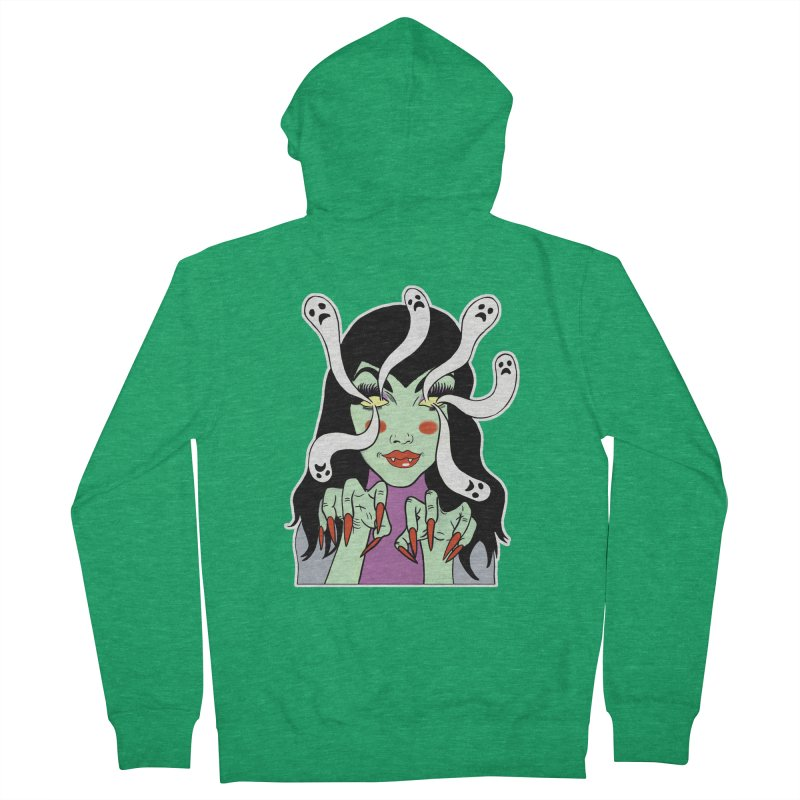 LAMIA Men's Zip-Up Hoody by Hate Baby Comix Artist Shop