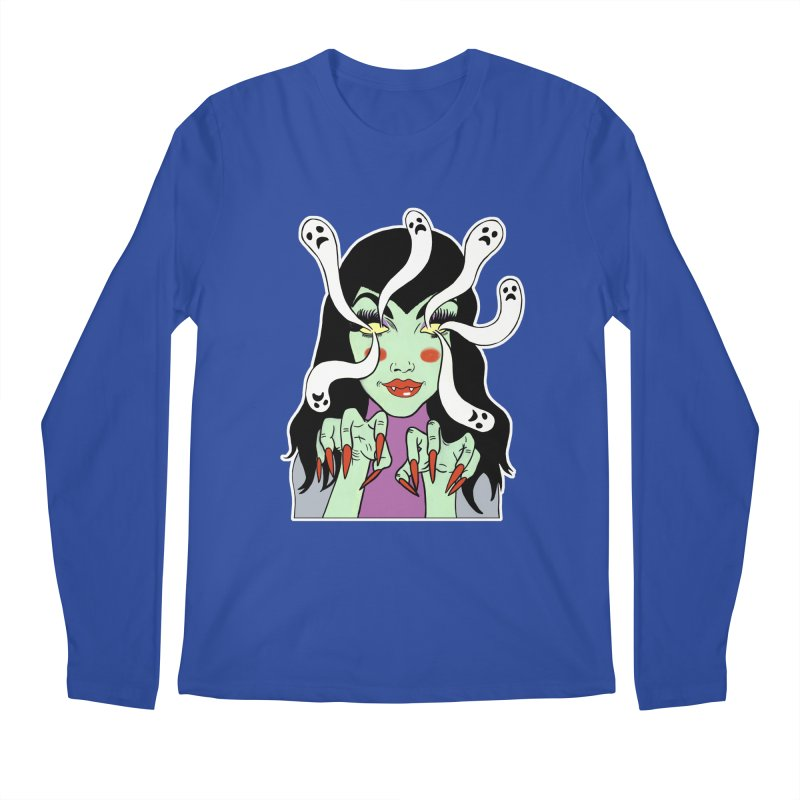LAMIA Men's Regular Longsleeve T-Shirt by Hate Baby Comix Artist Shop