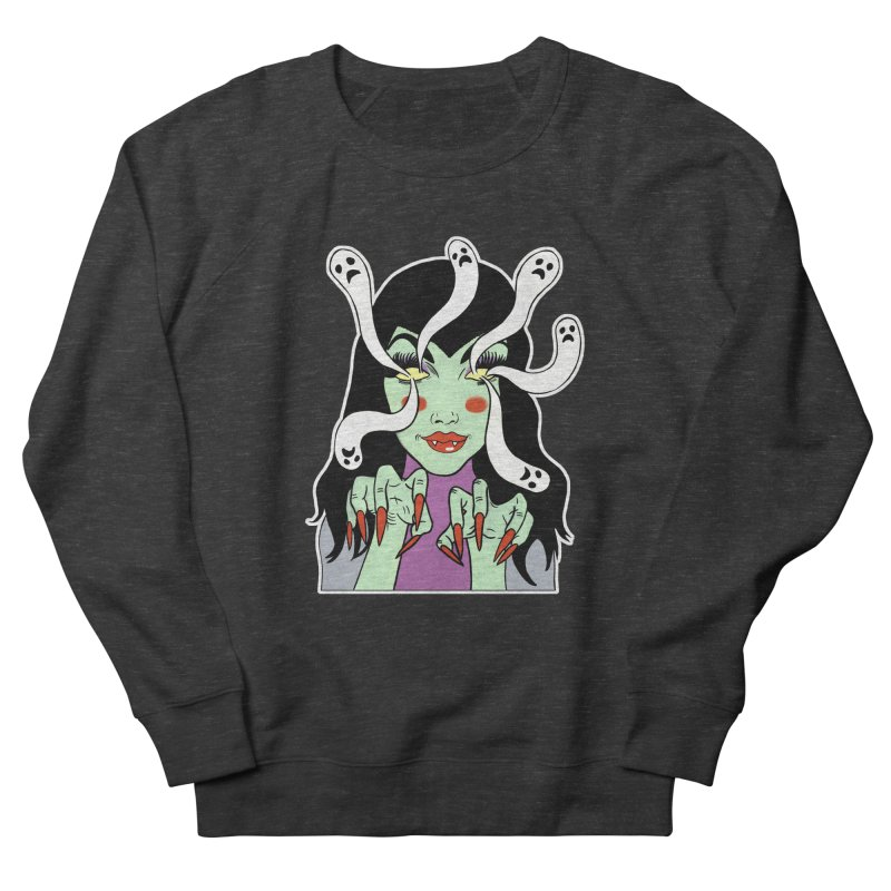 LAMIA Men's French Terry Sweatshirt by Hate Baby Comix Artist Shop