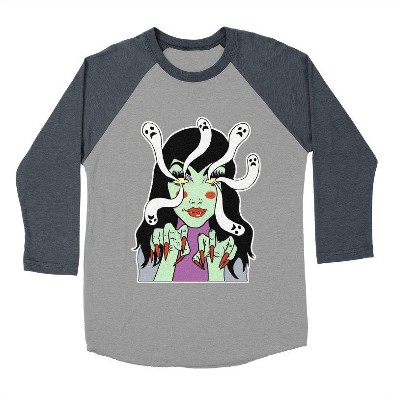 LAMIA Men's Baseball Triblend Longsleeve T-Shirt by Hate Baby Artist Shop