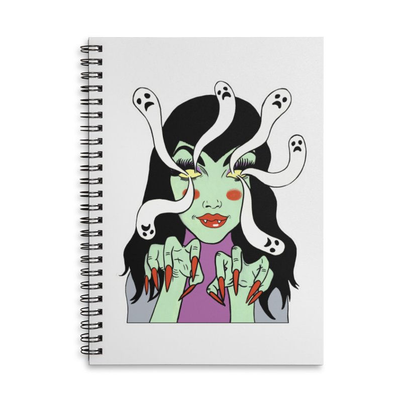 LAMIA Accessories Notebook by Hate Baby Comix Artist Shop