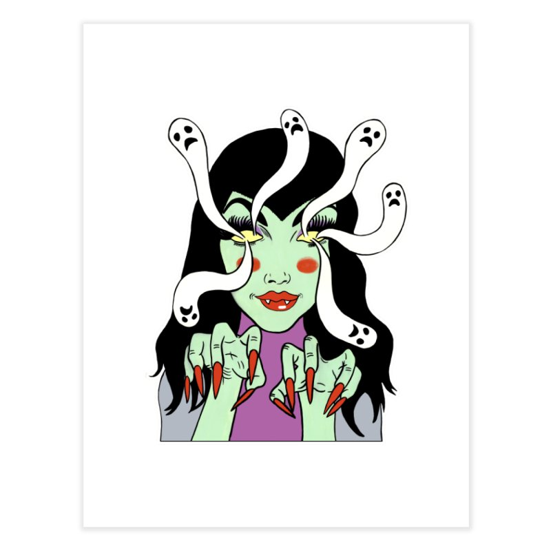 LAMIA Home Fine Art Print by Hate Baby Comix Artist Shop