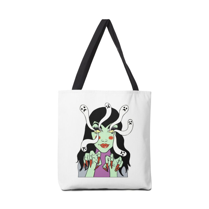 LAMIA Accessories Tote Bag Bag by Hate Baby Comix Artist Shop