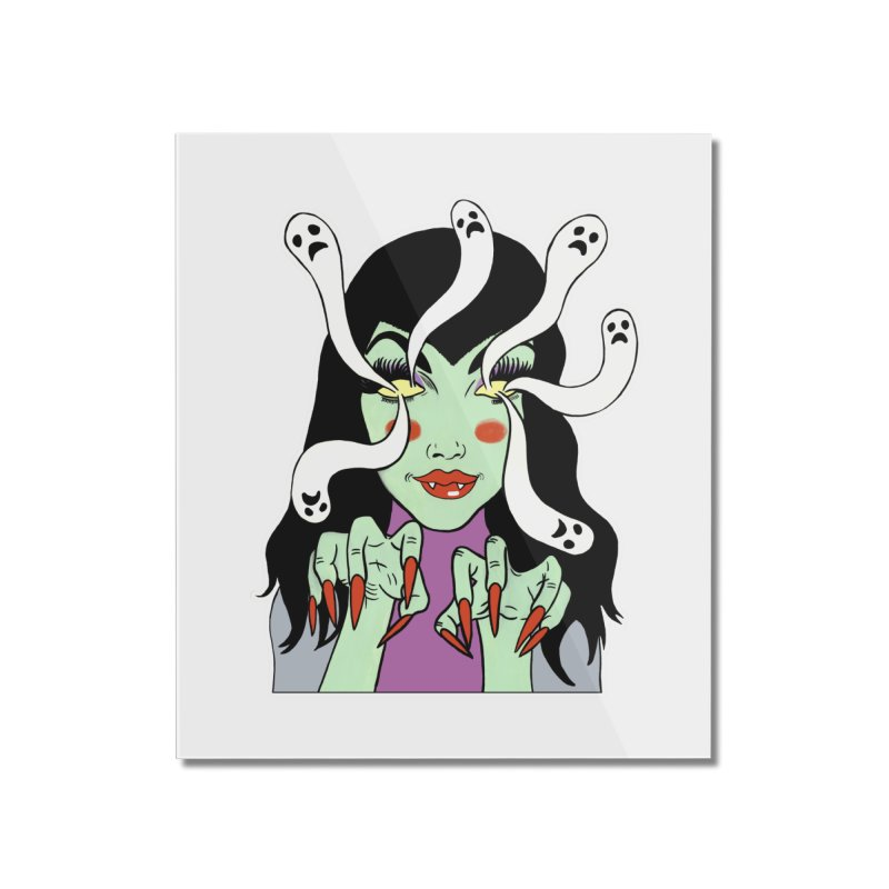 LAMIA Home Mounted Acrylic Print by Hate Baby Comix Artist Shop