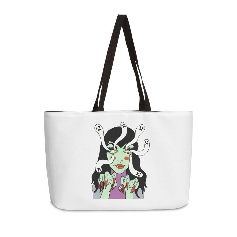 LAMIA Accessories Weekender Bag Bag by Hate Baby Comix Artist Shop