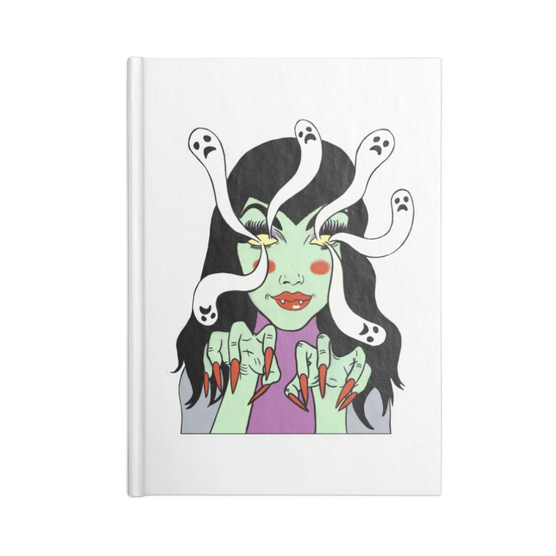 LAMIA Accessories Lined Journal Notebook by Hate Baby Comix Artist Shop