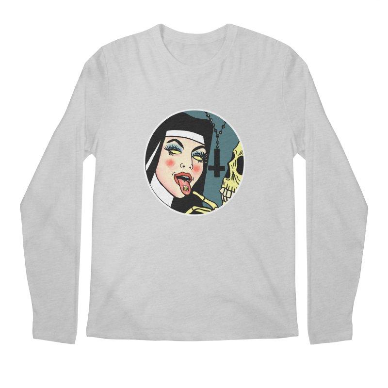 ACID NUN Men's Regular Longsleeve T-Shirt by Hate Baby Comix Artist Shop