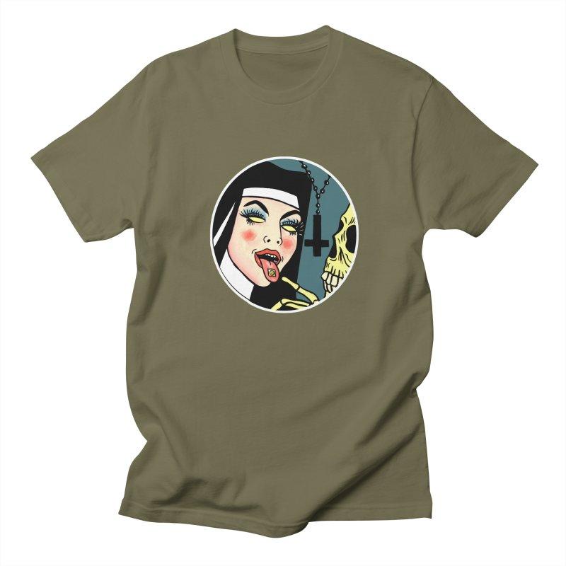 ACID NUN Women's Regular Unisex T-Shirt by Hate Baby Comix Artist Shop