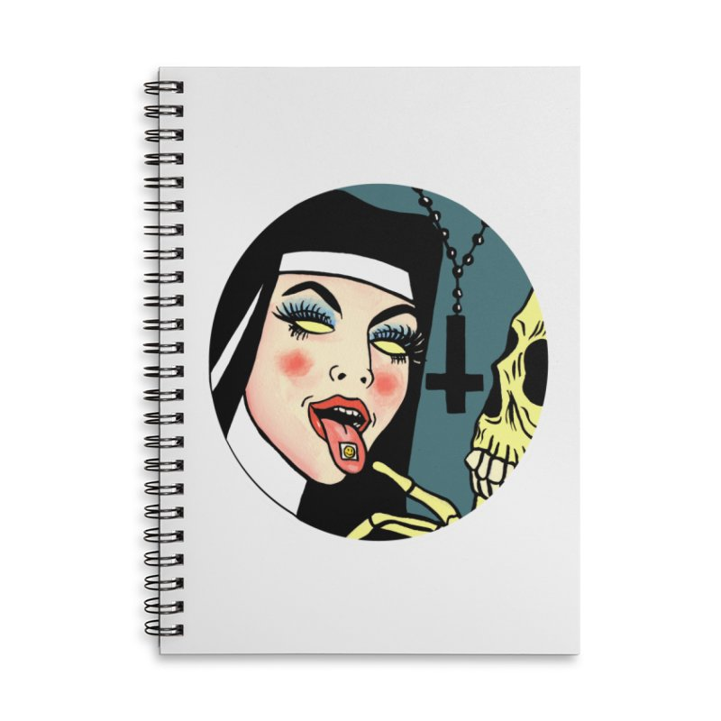 ACID NUN Accessories Notebook by Hate Baby Comix Artist Shop