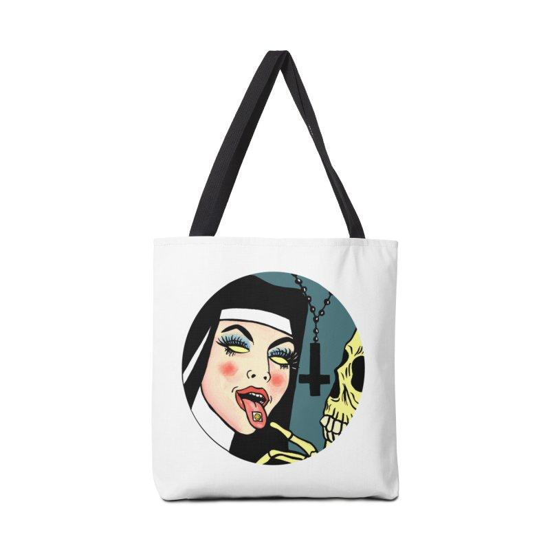 ACID NUN Accessories Bag by Hate Baby Comix Artist Shop