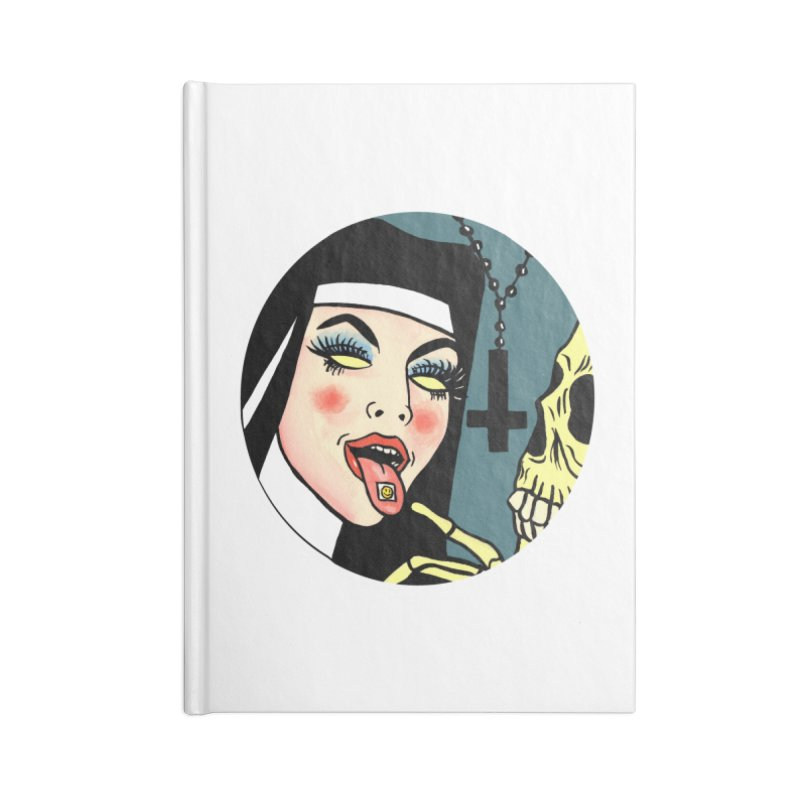 ACID NUN Accessories Lined Journal Notebook by Hate Baby Comix Artist Shop