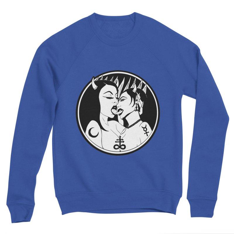 DEVILS KISS Men's Sponge Fleece Sweatshirt by Hate Baby Comix Artist Shop