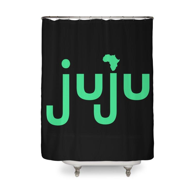 Juju African Magic Home Shower Curtain by Cornerstore Classics