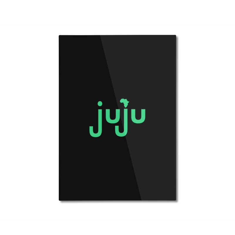 Juju African Magic Home Mounted Aluminum Print by Cornerstore Classics