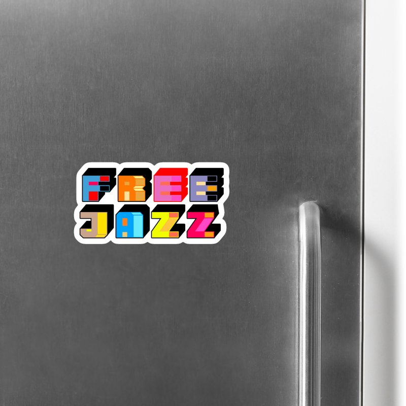 Free Jazz Accessories Magnet by Cornerstore Classics