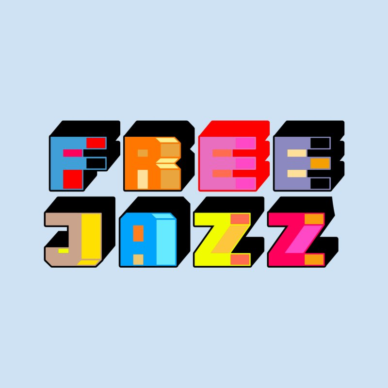 Free Jazz Home Bath Mat by Cornerstore Classics