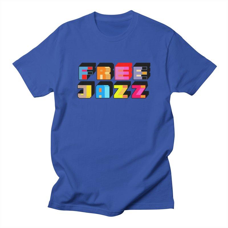 Free Jazz Men's T-Shirt by Cornerstore Classics