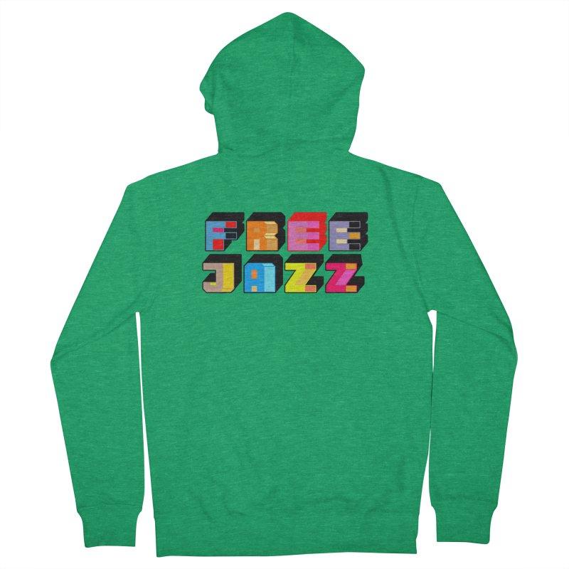 Free Jazz Men's Zip-Up Hoody by Cornerstore Classics