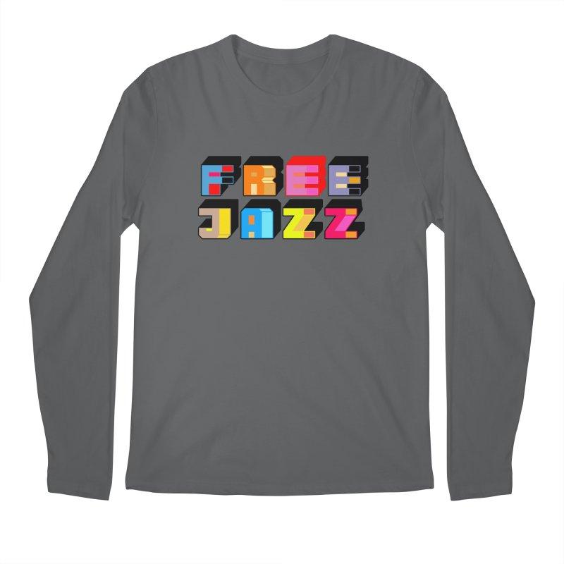 Free Jazz Men's Longsleeve T-Shirt by Cornerstore Classics