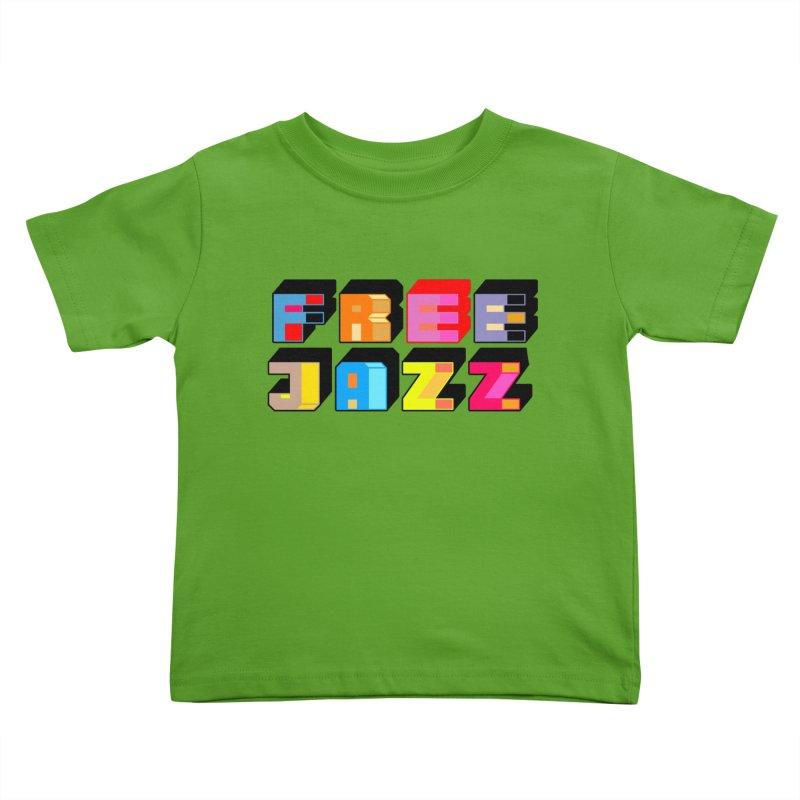 Free Jazz Kids Toddler T-Shirt by Cornerstore Classics