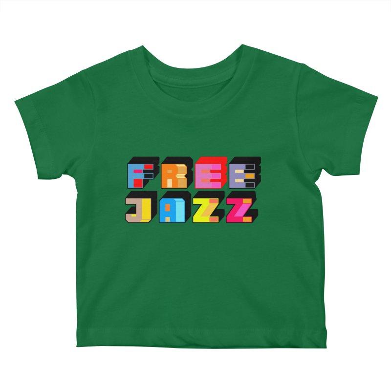 Free Jazz Kids Baby T-Shirt by Cornerstore Classics