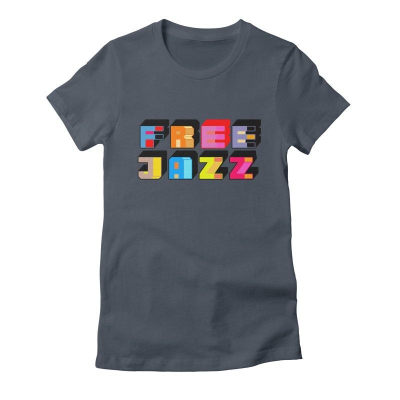 Free Jazz Women's T-Shirt by Cornerstore Classics