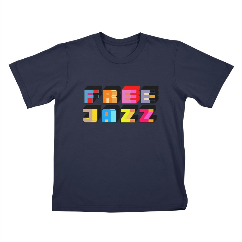 Free Jazz Kids T-Shirt by Cornerstore Classics