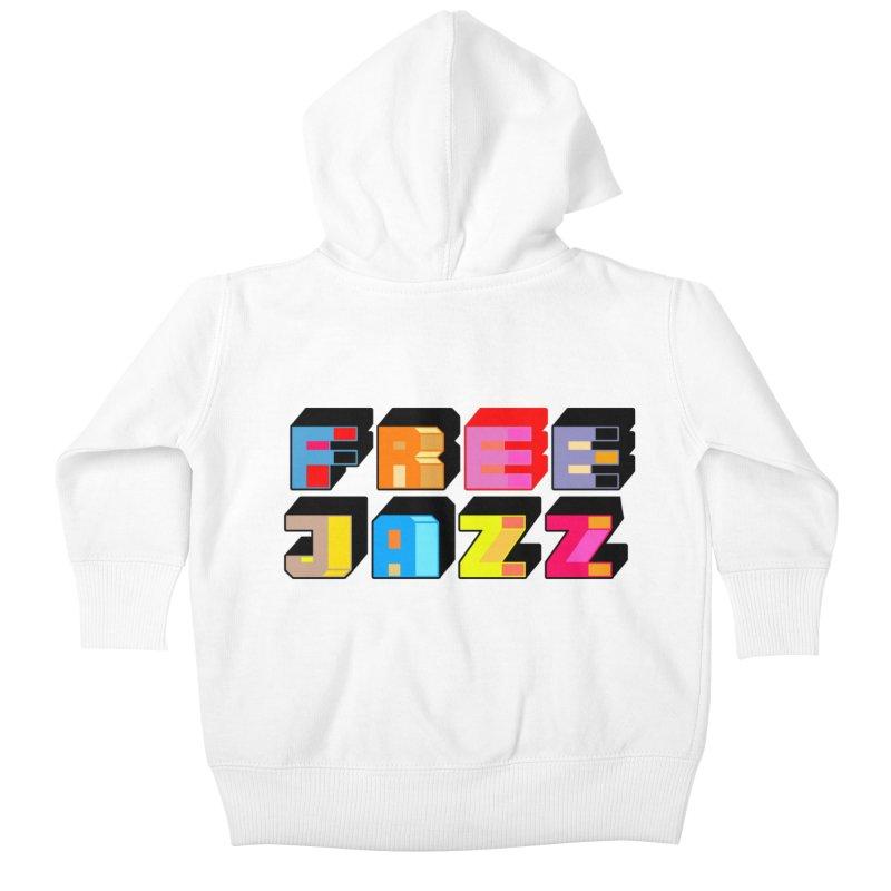 Free Jazz Kids Baby Zip-Up Hoody by Cornerstore Classics