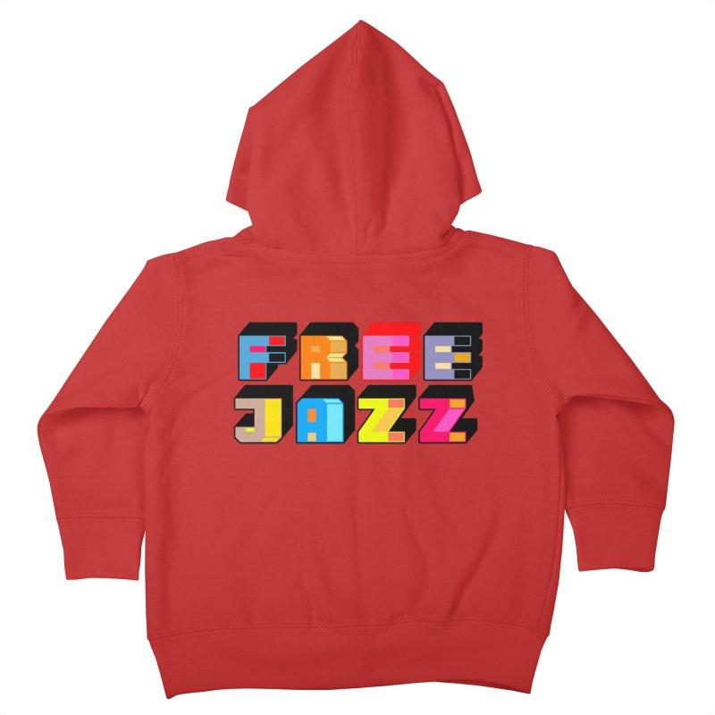 Free Jazz Kids Toddler Zip-Up Hoody by Cornerstore Classics