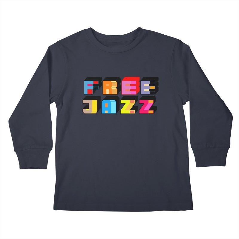 Free Jazz Kids Longsleeve T-Shirt by Cornerstore Classics