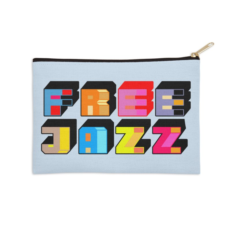 Free Jazz Accessories Zip Pouch by Cornerstore Classics