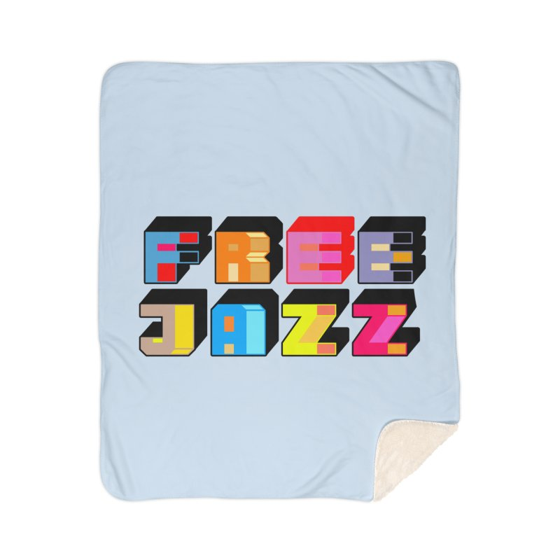Free Jazz Home Blanket by Cornerstore Classics