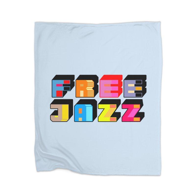 Free Jazz Home Blanket by Cornerstore Classics