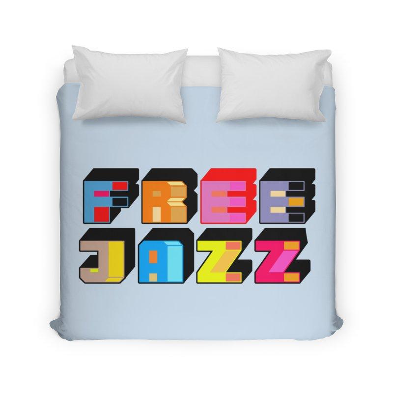 Free Jazz Home Duvet by Cornerstore Classics