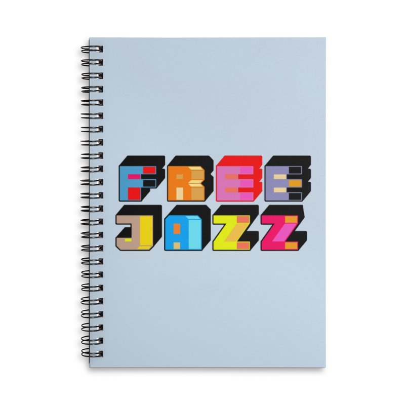 Free Jazz Accessories Notebook by Cornerstore Classics