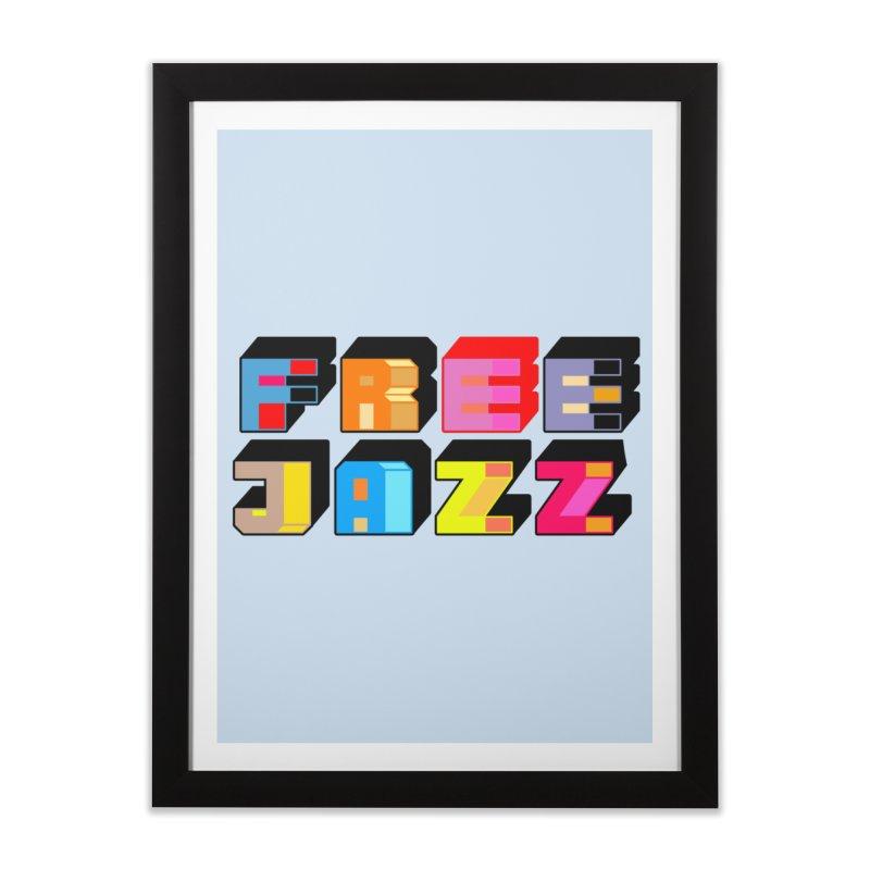 Free Jazz Home Framed Fine Art Print by Cornerstore Classics