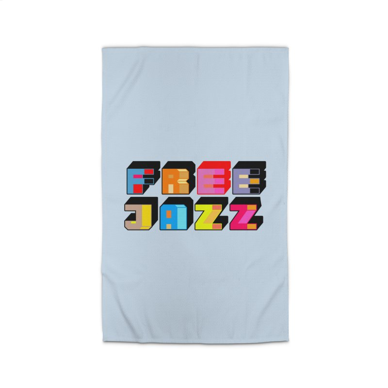 Free Jazz Home Rug by Cornerstore Classics
