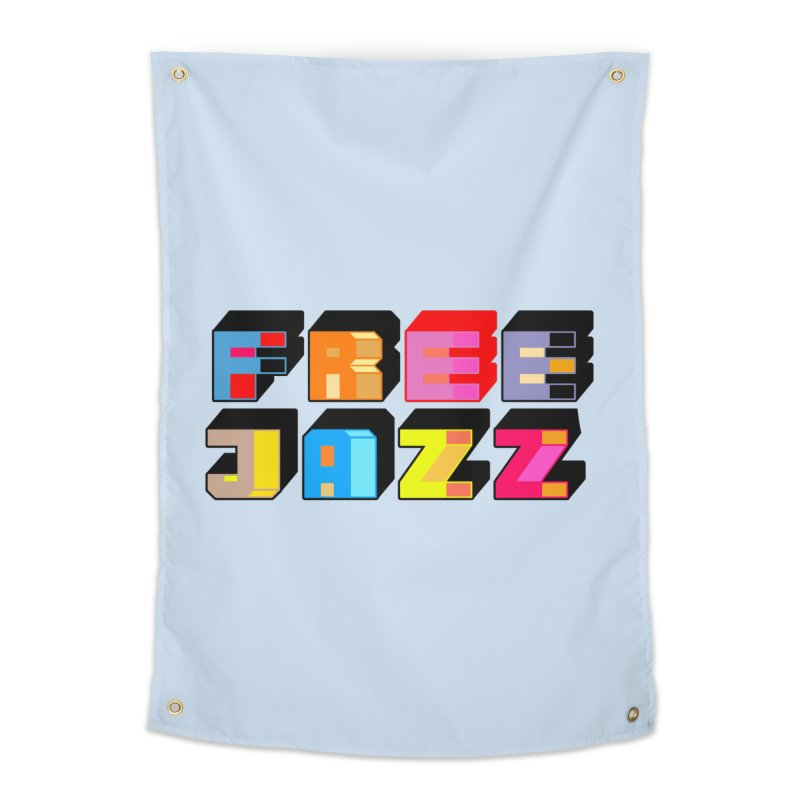 Free Jazz Home Tapestry by Cornerstore Classics