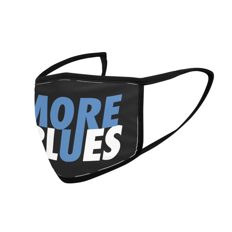 More Blues Accessories Face Mask by Cornerstore Classics
