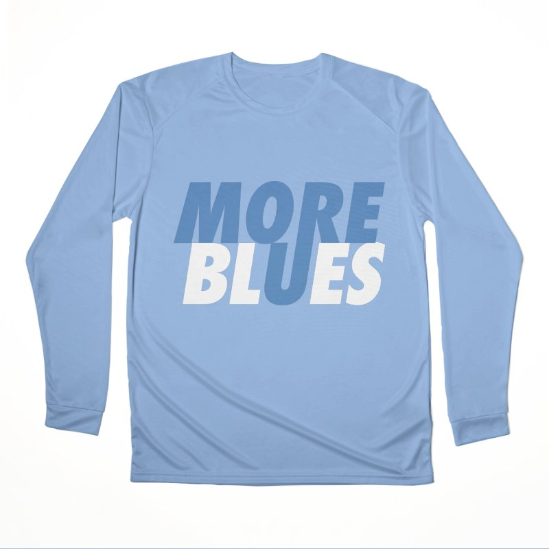 More Blues Men's Longsleeve T-Shirt by Cornerstore Classics