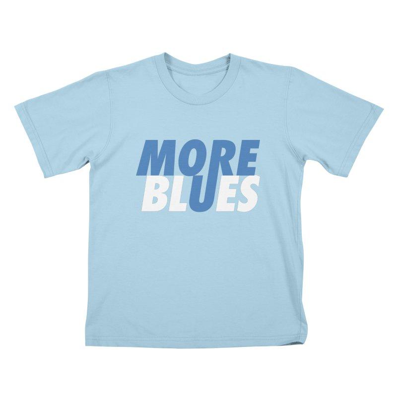 More Blues Kids T-Shirt by Cornerstore Classics
