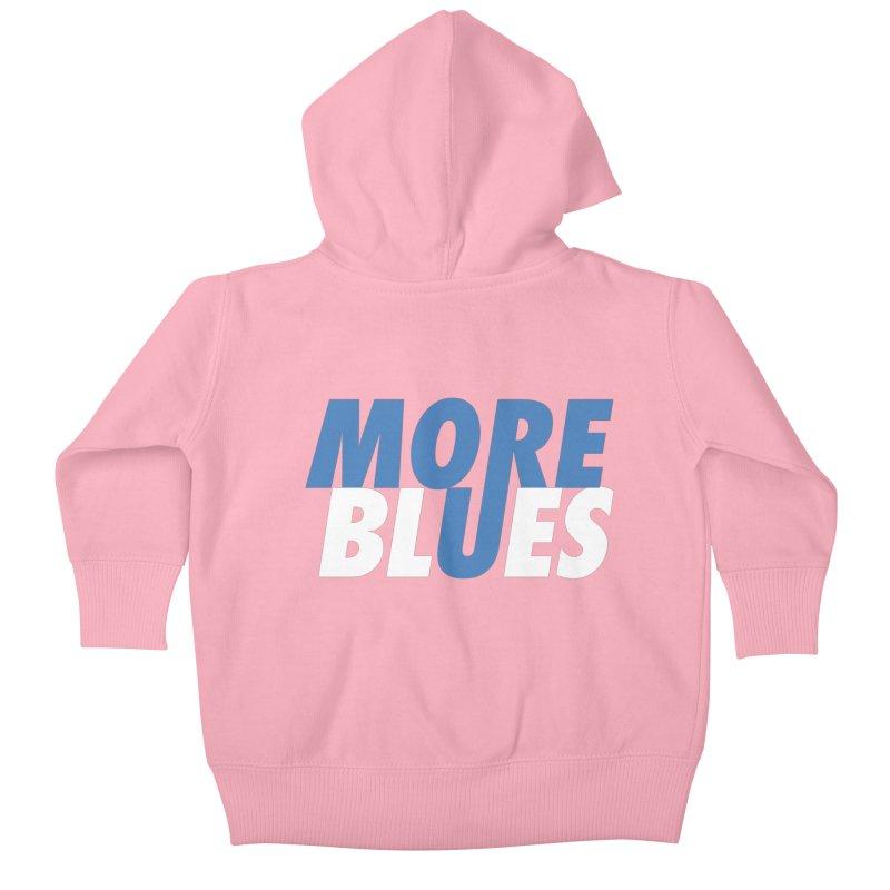 More Blues Kids Baby Zip-Up Hoody by Cornerstore Classics