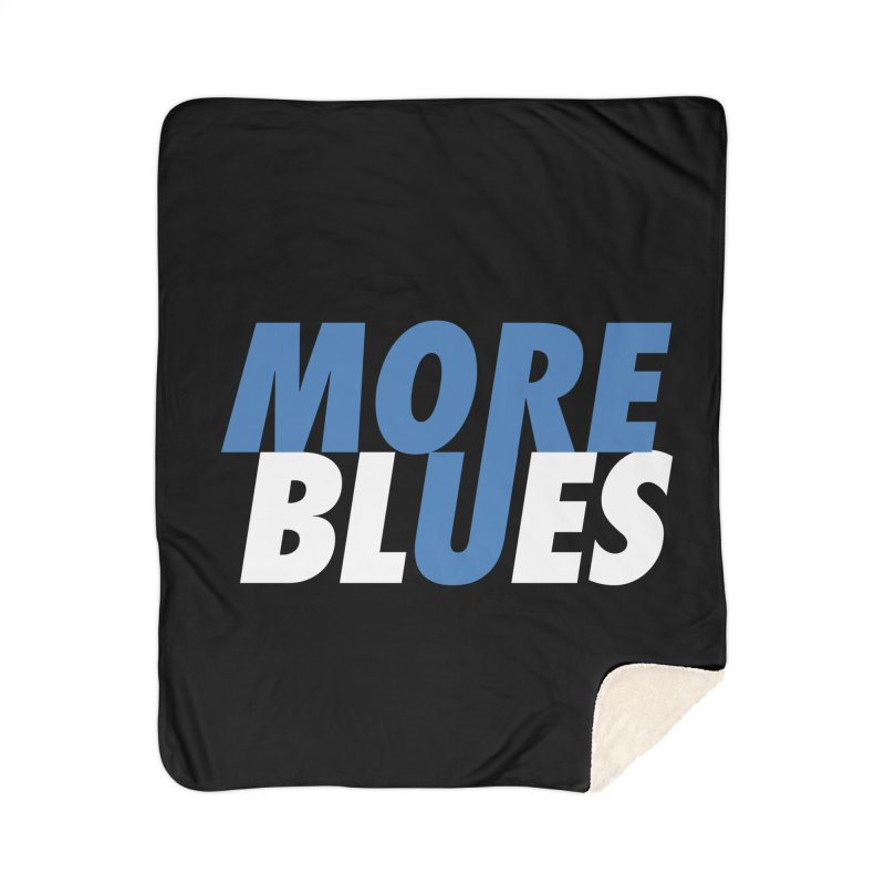 More Blues Home Blanket by Cornerstore Classics