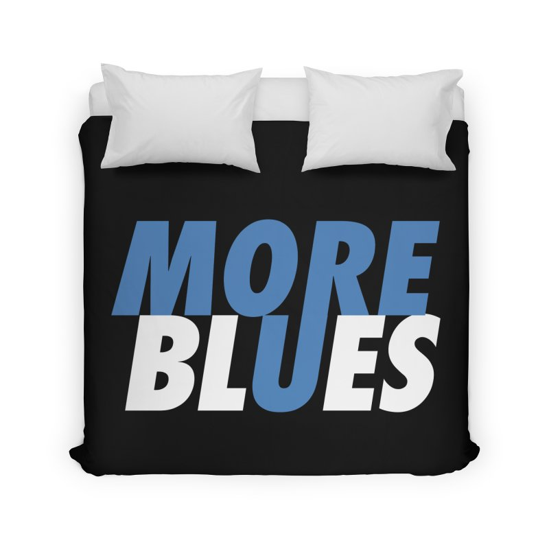 More Blues Home Duvet by Cornerstore Classics